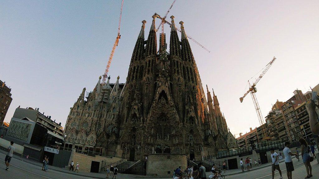 Simbol Barselone: Sagrada familia