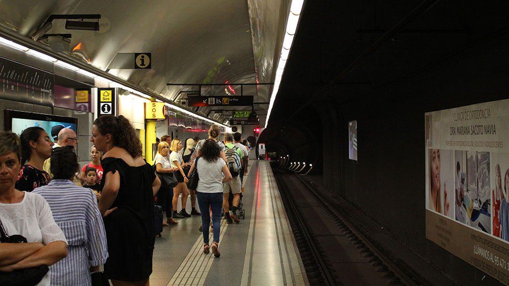 Metro u Barseloni