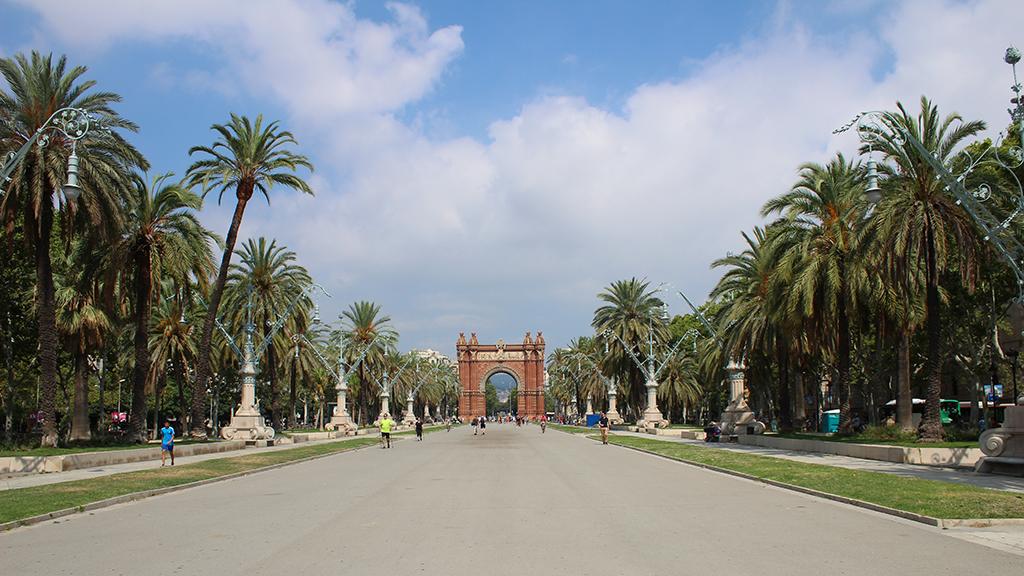 Trijumfalna kapija u Barseloni