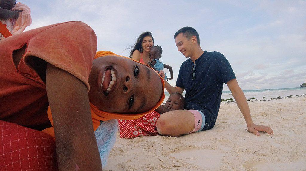 Deca na Zanzibaru